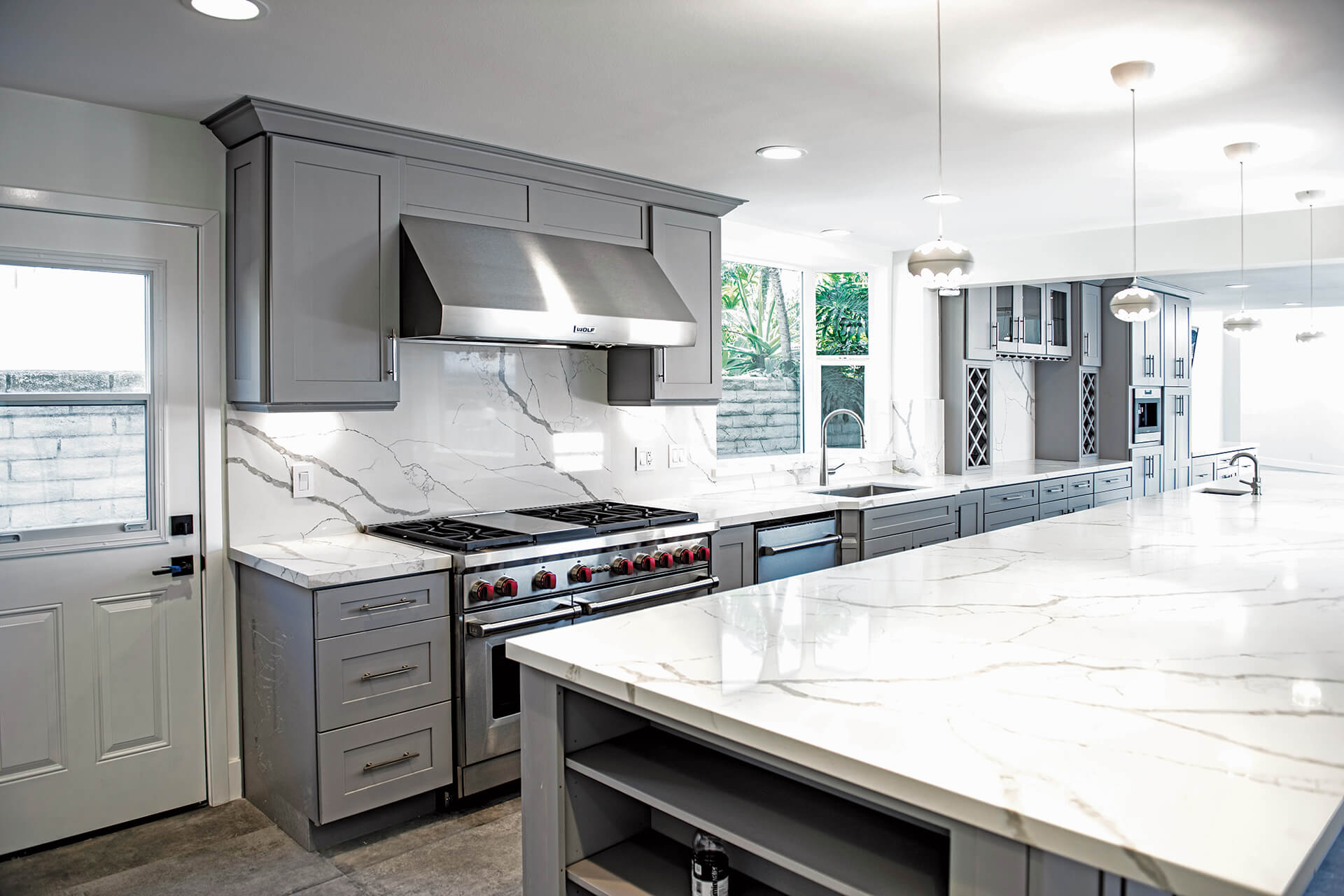 Haven Gray Kitchens | 405 Cabinets & Stone